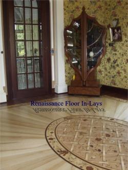 strahlender Boden intarsien renesans